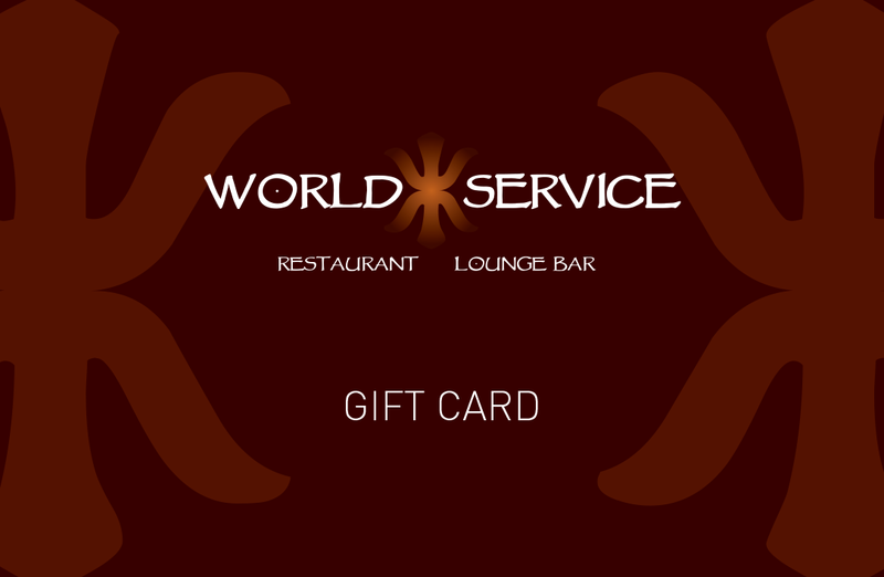 World Service Gift Card
