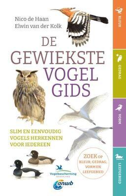 De gewiekste vogelgids - Slim en eenvoudig vogels herkennen voor iedereen - Nico de Haan