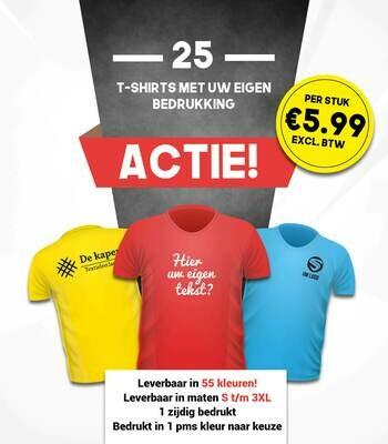 T-shirt actie