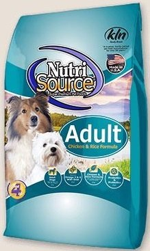 Nutri Source Adult Chicken and Rice Dog Food 30 lbs