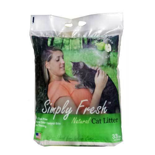Simply Fresh Apple Scented Cat Litter 33 lbs