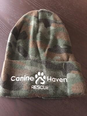 Camouflage Knit Beanie