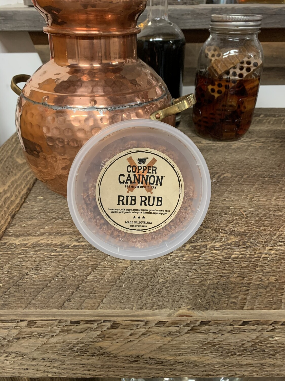 Copper Cannon Rib Rub