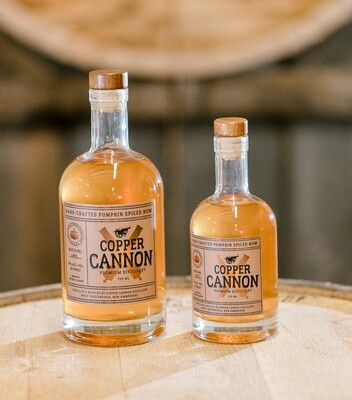 Copper Cannon Hand Crafted Pumpkin Spiced Rum