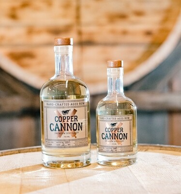 Copper Cannon Hand Crafted Barrel Aged Rum