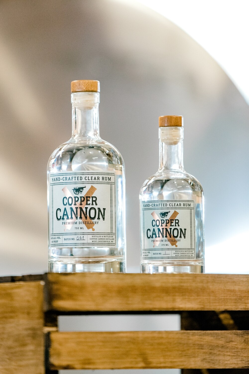 Copper Cannon Hand Crafted Clear Rum