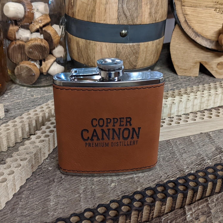 Copper Cannon Premium Flask 6 oz