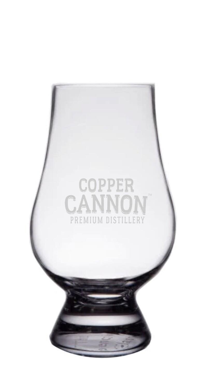 Copper Cannon Snifter Glass, 6.75 oz