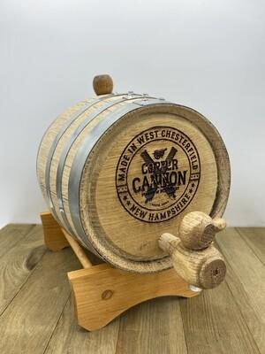 Mini Oak Barrel