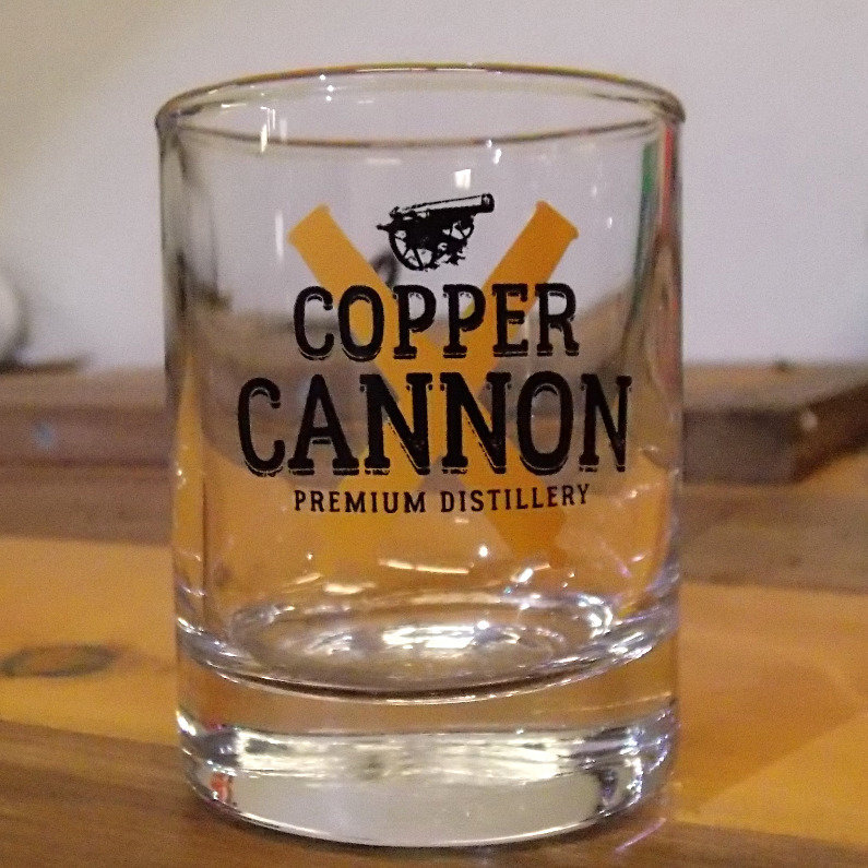 Copper Cannon Shot Glass, 3 oz