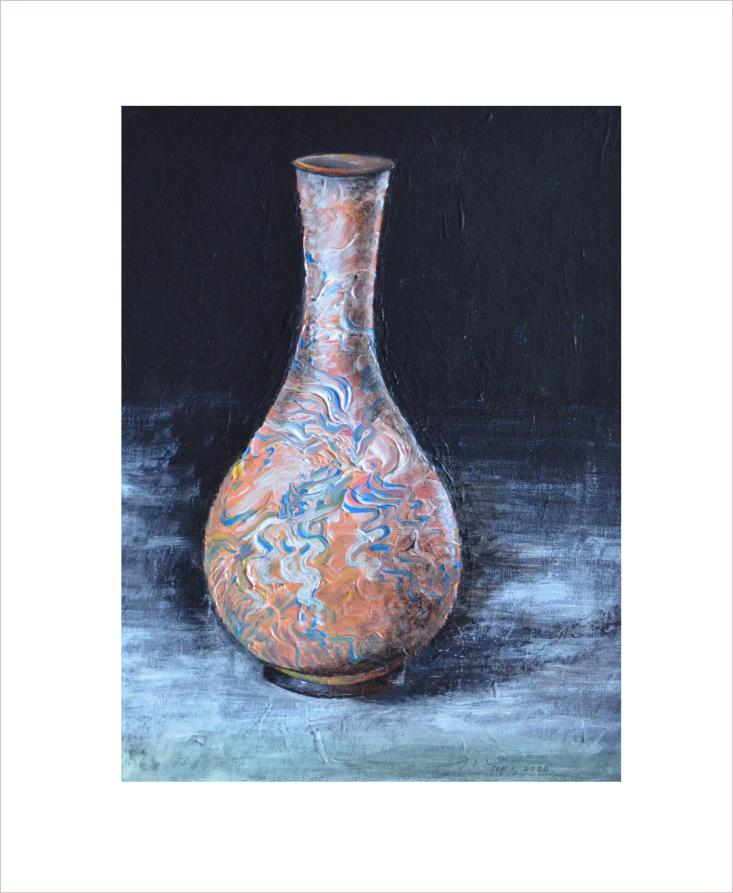 Original Painting on Sale: Vase