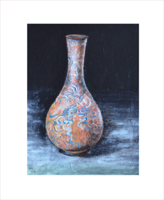 Original Painting on Sale: Vase