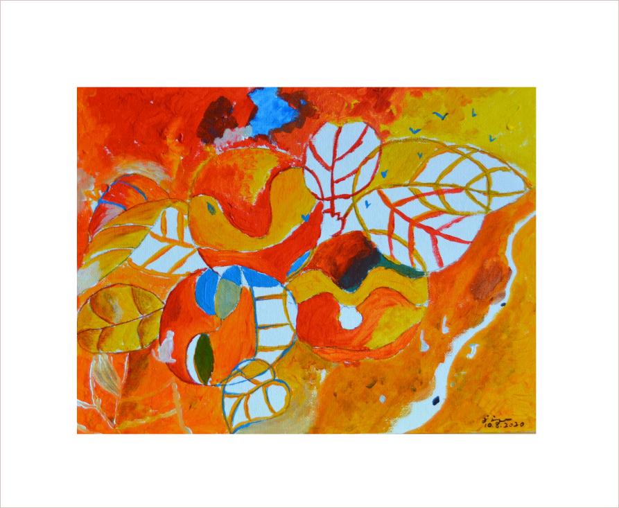 Original Painting On Sale: Memory of Autumn