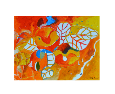 Original Painting On Sale: Memory of Autumn