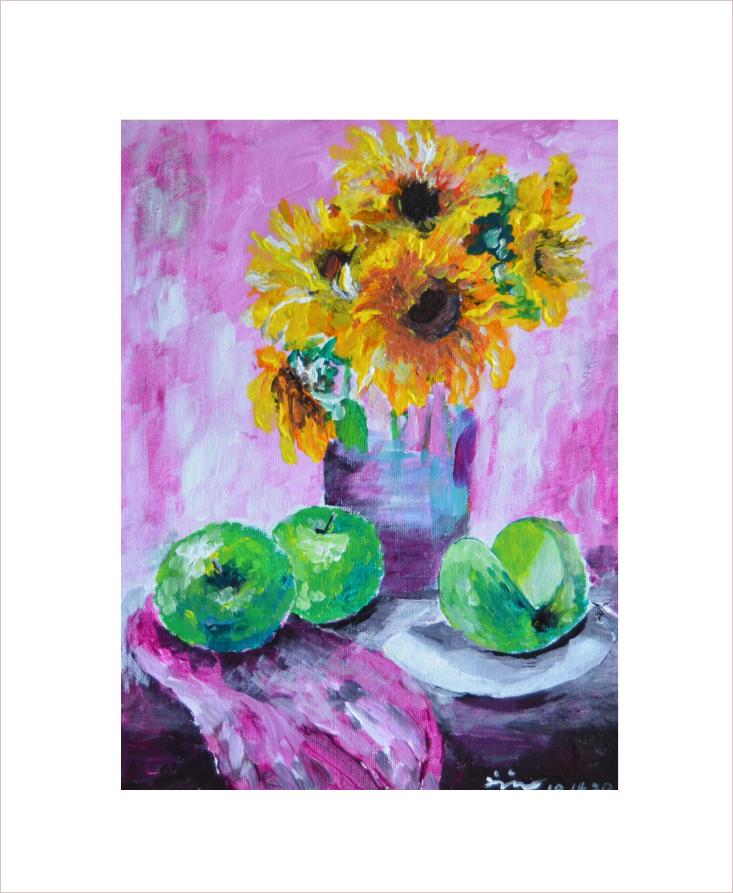 Original Painting on Sale:Still Life