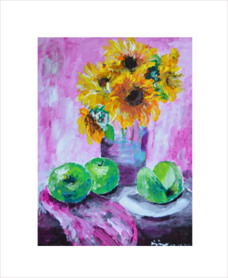 Original Painting on Sale:Still Life