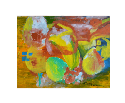 Original Painting on Sale:Fruits