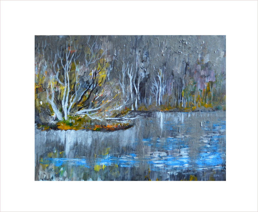Original Painting on Sale:Late Fall