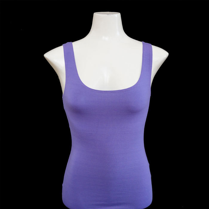 Yoga Tank Shirt - Flieder