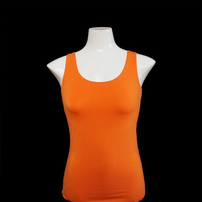 Yoga Tank Shirt - Orange