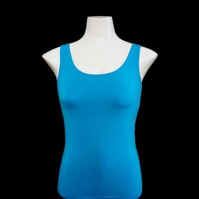 Yoga Tank Shirt - Azurblau