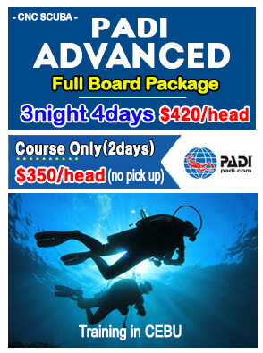 PADI ADVANCE PACKAGE