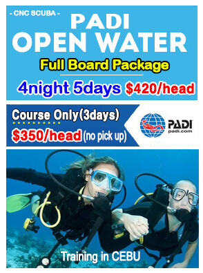 PADI OPENWATER PACKAGE