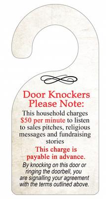 Door Hanger Door Knockers