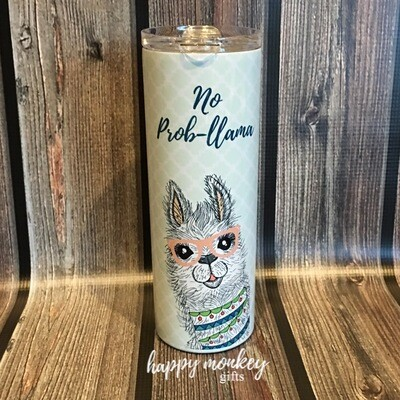 No Prob Llama Tumbler