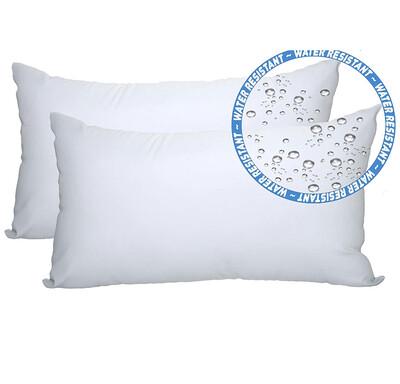 """Water Resistant Lumbar Pillow Insert (12"""" x 20"""" - Fits 12"""" x 20"""" shams)"""