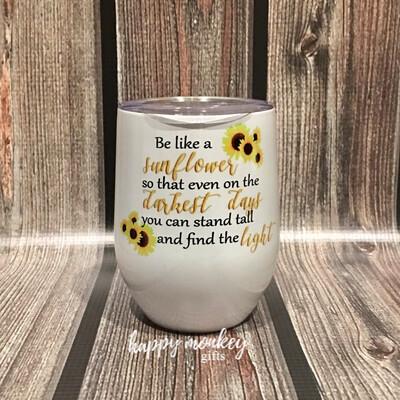 Be A Sunflower Stemless Tumbler