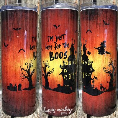I'm Just Here For The Boos Tumbler