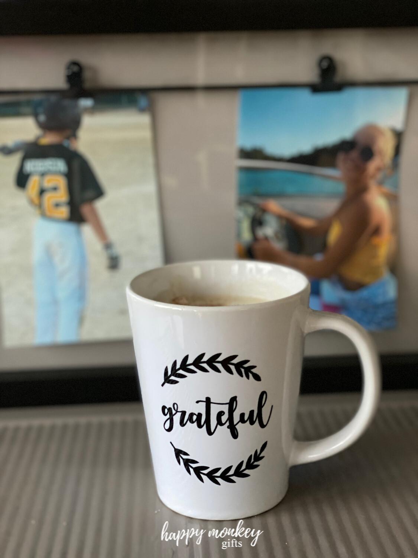 Latte Cup  (12oz) - Grateful