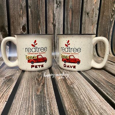 Ceramic Camp Style Mug - Personalized