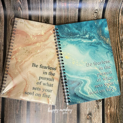 Be Fearless In Your Pursuit Of What Sets Your Soul On Fire Notebook