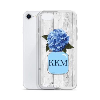 Blue Hydrangea Phone Case