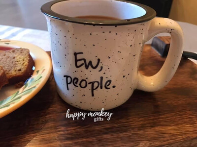 Ceramic Camp Style Mug - Ew Series