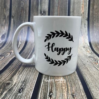 Happy - 11oz Coffee Mug