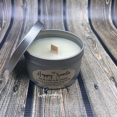 Happy Scents Candle - Put Da Line In Da Coconut Soy Blend