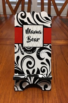 "Phone Stand - ""Mama Bear"""