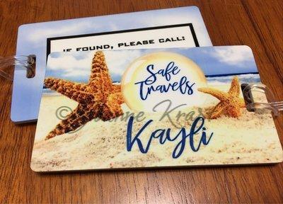 Luggage Tags - Starfish Travels