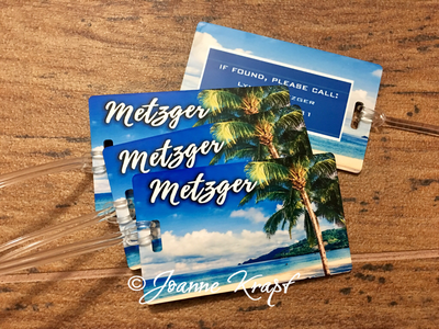 Luggage Tag - Caribbean Dreams!