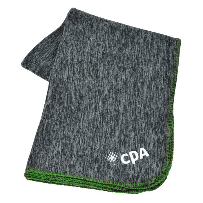 CPA Stadium Blanket (Heather/Green)