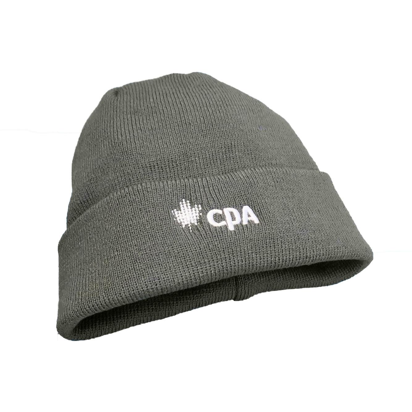 CPA Cuffed Knit Toque