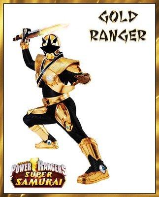 Signed Gold Super Samurai Ranger 8x10