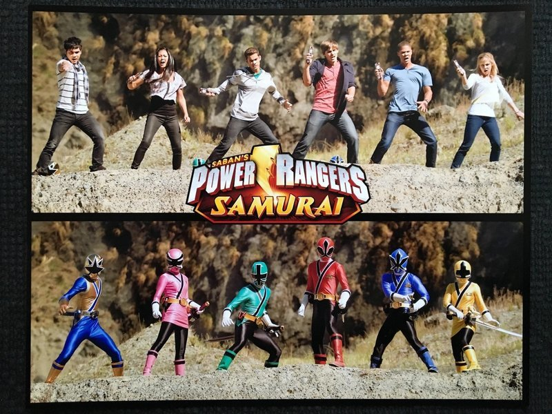 Signed (only by Steven) Samurai Power Rangers Morphed 8x10