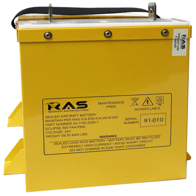 High Capacity 34 Amp-hour Battery Kit