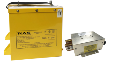 High Capacity Battery and Battery Bus Contactor Upgrade