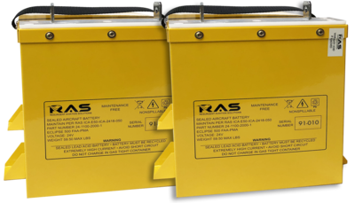 Dual High Capacity 34 Amp-hour Battery Kit