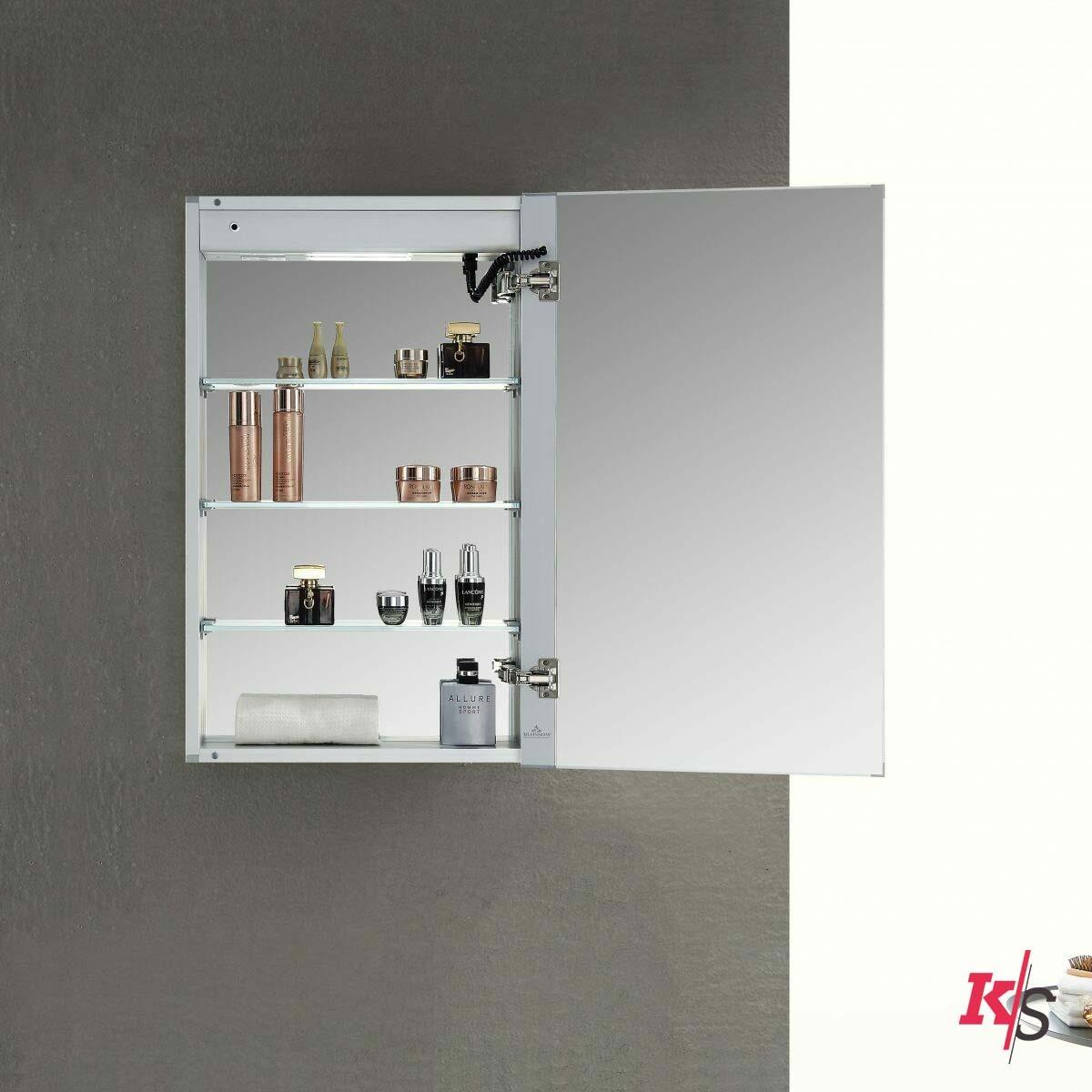 Asta – 24 Inches LED Medicine Cabinet KS-MCL2-2432L
